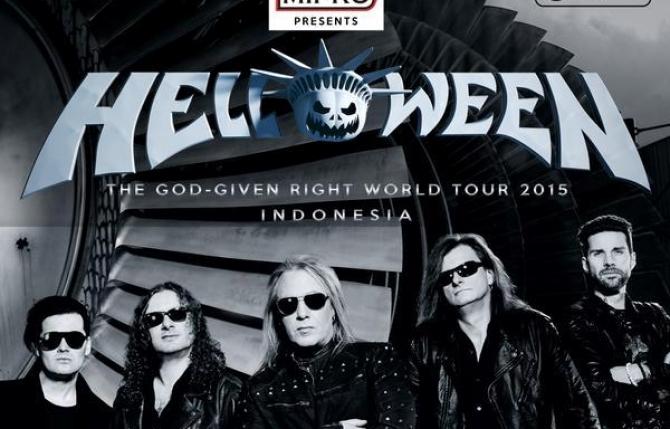 Helloween Untuk Kali Kelima Gelar Konser Di Indonesia