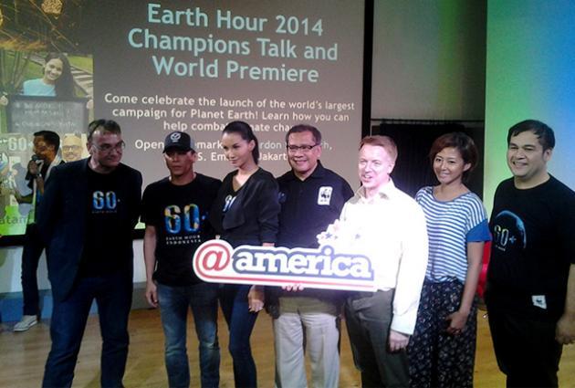 Indonesia Jadi Tuan Rumah Earth Hour 2014