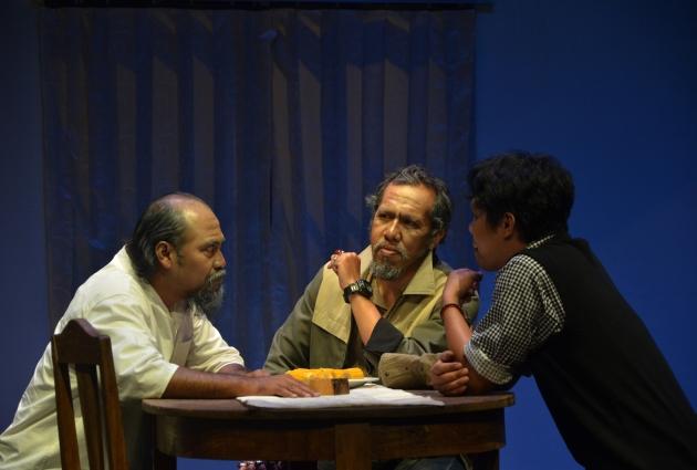 Pementasan Teater Cakar Monyet Di Teater Salihara