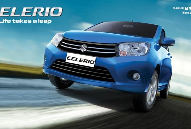 Suzuki Celerio CNG Siap Dipasarkan Di Indonesia
