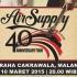 Air Supply 40th Anniversay Tour Malang & Yogyakarta
