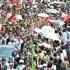 Arak-Arakan Kirab Budaya Hantar Jokowi-Jusuf Kalla Menuju Istana Merdeka
