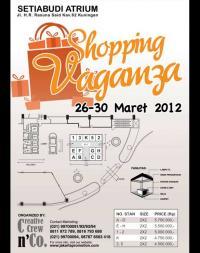 Shopping Vaganza 26-30 Maret 2012