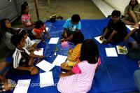 Workshop Gambar Anak – Anak dan Komunitas Begoendal