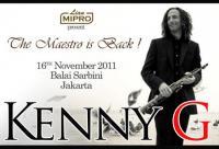 Kenny G Live In Jakarta 2011